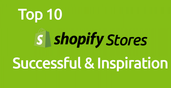 Top Shopify Stores 2017: Successful & Inspiration