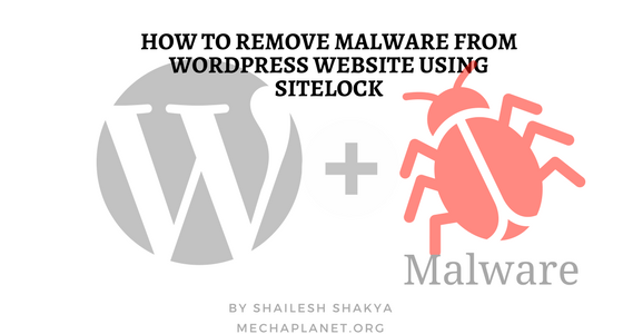How to remove the malware from wordpress website