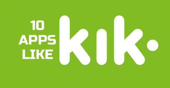 Top 10 Apps like Kik