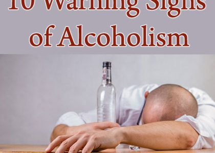Alcohol Addiction: Ten Warning Signs of Alcoholism | Aha!NOW