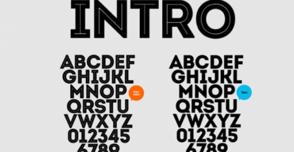 Intro Font Family Free Download