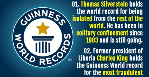 50 Weird and Interesting World Records