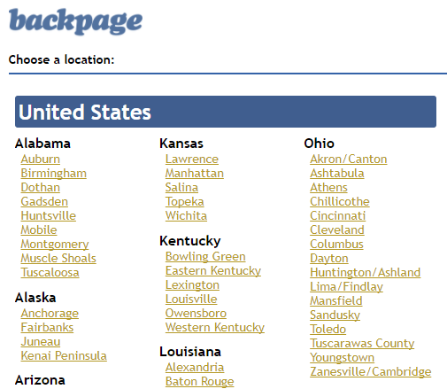 Backpage zanesville oh