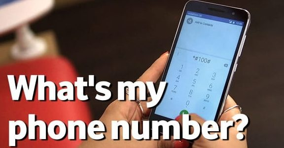 What's my phone number – Find Phone Number on Android
