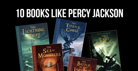Top 10 Books like Percy Jackson