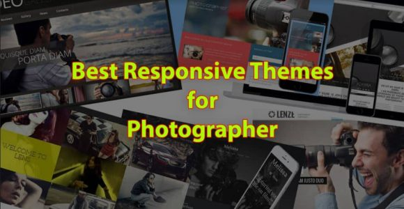 Responsive WordPress Themes for Photographers