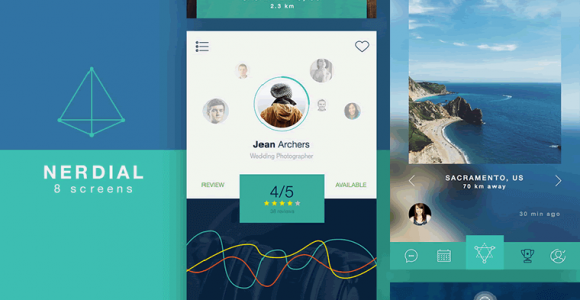 52+ Best Responsive Free Mobile UI Kits for Android and iOS