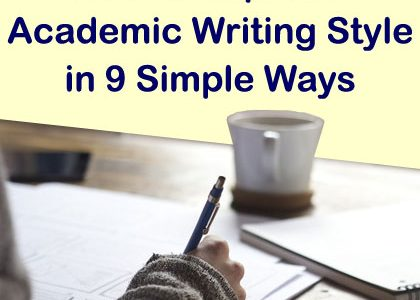 How to Improve Academic Writing Style in 9 Simple Ways | Aha!NOW