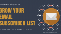 Grow Your Email List with 8 Best WordPress Email Subscription Plugins