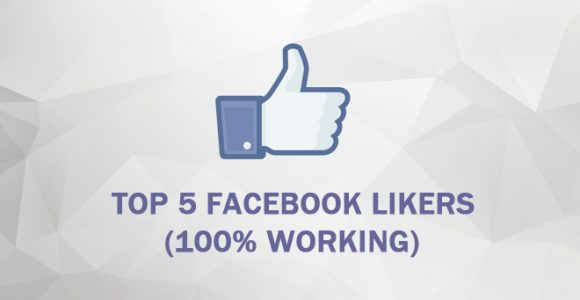 Top 5 Best Facebook Likers (100% Working)