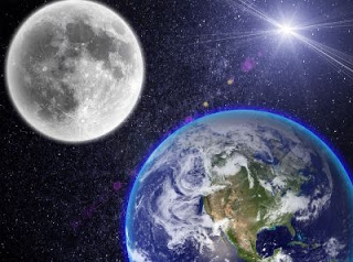 Why do we always see only one side of the moon ?