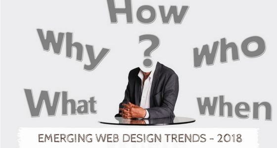 Emerging Modern Web Design Trends This 2018