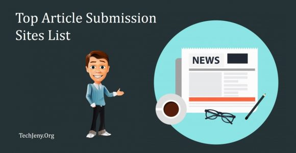 Top 100+ Article Submission Sites List 2018