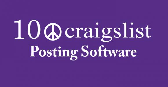10 Best Craigslist Posting Software for 2018