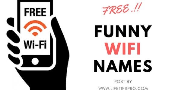 Creative And Funny WiFi Names & WiFi Names Generator {UPDATED}