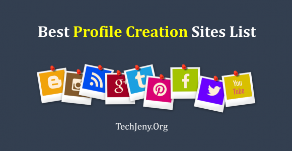 Profile Creation Sites List in 2108