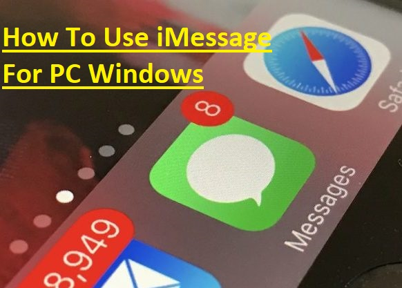 Instant Messages From World Without Fish Novel Fiction : Imessage for pc how to use on windows