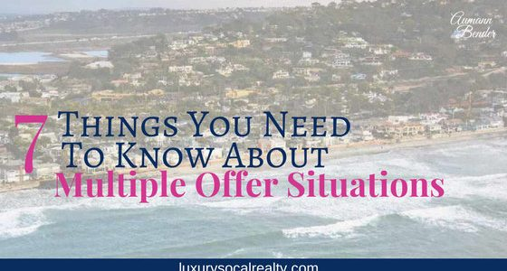 7 Things You Need To Know About (Multiple Offer Situations)