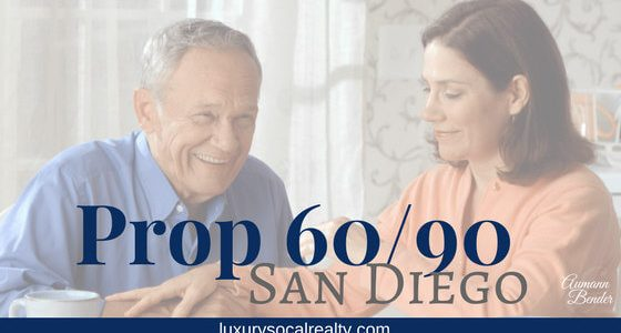 California Proposition 60 and 90 (Homeowners Age 55+)