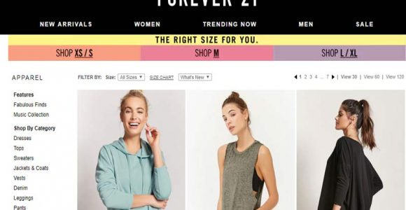 10 stores like foreever 21