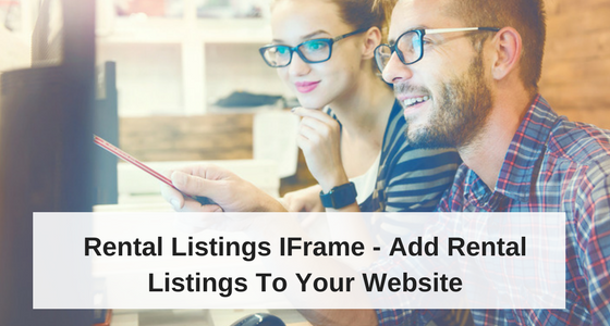 Rental Listings IFrame – Add Rental Listings To Your Website