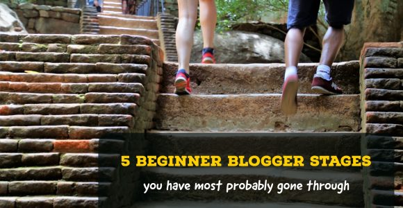 5 Beginner blogger stages you (yes you) have most probably gone through