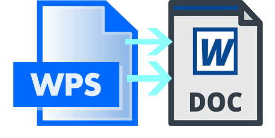 How to Convert WPS to DOC