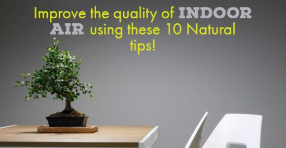 Improve the quality of indoor air using these 10 Natural tips!