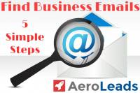 5 Simple Ways to Find Business Emails – AeroLeads