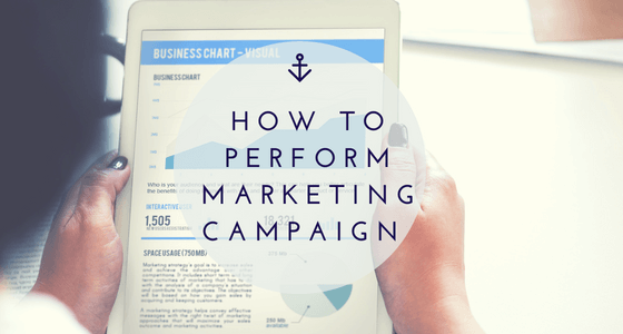 How to perform marketing campaign exactly the way it should be?