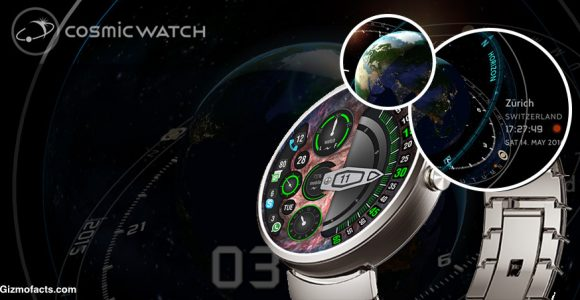 How The Cosmic Watch App Works?