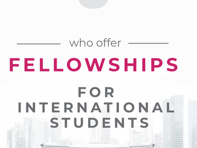 9 Websites for finding Fellowships for International Students