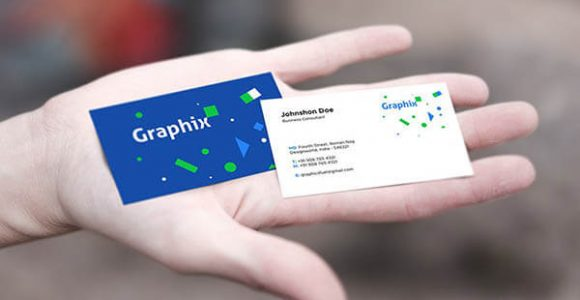 Top 60+ Best Free PSD Business Card Mockups 2018