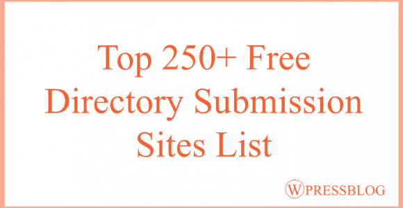 250+ Free Directory Submission Sites List in 2018