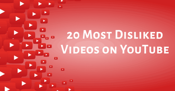 20 Most Disliked Videos on YouTube