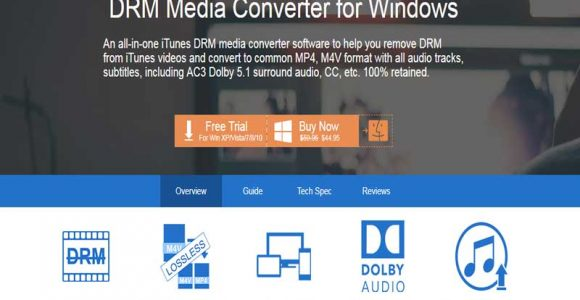 Tuneskit DRM Audio Converter for Windows Review