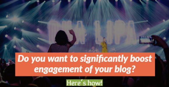 Do you want to significantly boost engagement of your blog? Here's how!