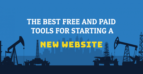 Useful Free and Paid Tools for creating a New Website