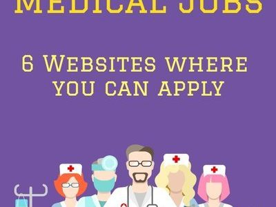 6 Websites where you can apply for Online Medical Jobs