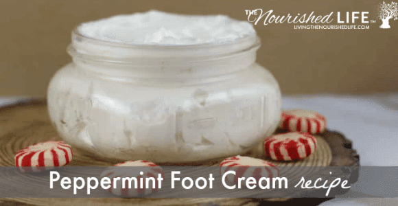 Peppermint Foot Cream Recipe | The Nourished Life