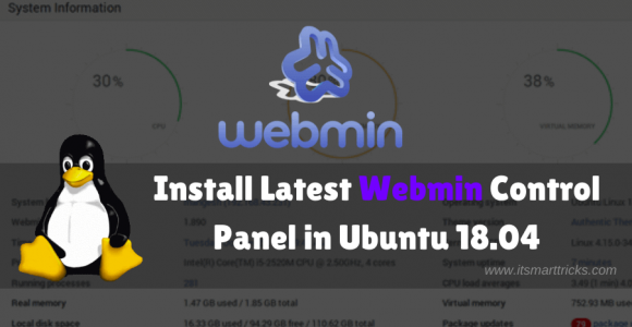 How to Install Latest Webmin Control Panel in Ubuntu 18.04