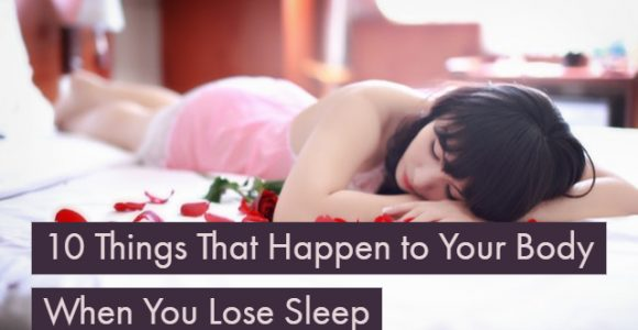 What actually happens to your body when you lose sleep?