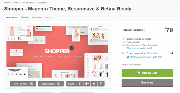 Top 15 Best Free magento themes for E-commerce Store