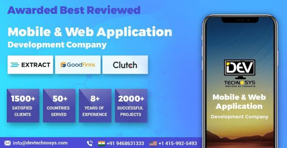 Best Mobilie Application Development Company- Dev Technosys