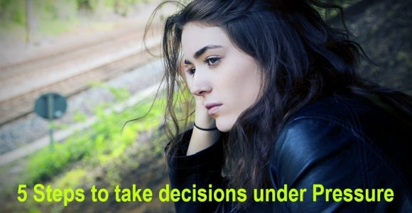 5 Steps to take decisions under Pressure | Invajy