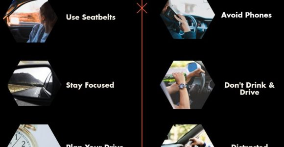 Steps to follow in order to avoid distracted driving