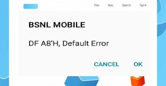 {SOLVED} – DF A8'H Default Error?