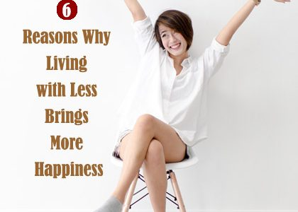 Minimalist Living: 7 Reasons Why Living with Less Brings More Happiness