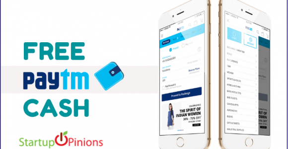 Earn Free Paytm Cash – 2019