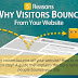 8 Reasons Why Visitors Bounce From Your Business Blog | Bounce Rate Website Analytics